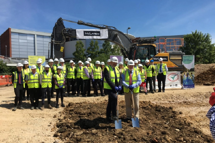Ground-breaking ceremony for Castle Quay 2 takes place in Banbury