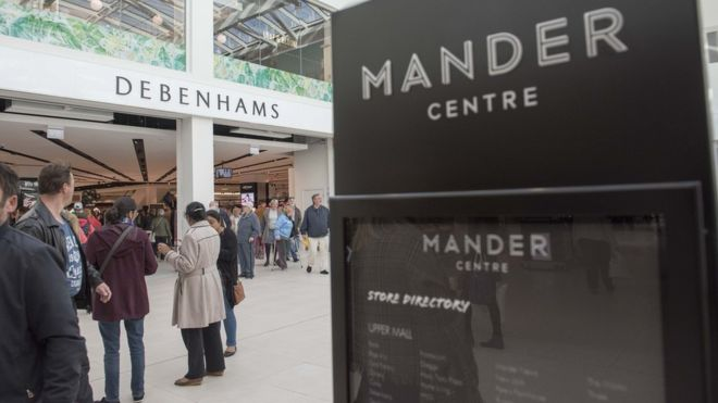 BWD agree terms on Mike Ashley's new multi-brand House of Fraser concept at the Mander Centre, Wolverhampton